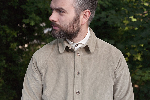 Cord, raglan; raglan, cord    Garments made with the makers of the British Isles