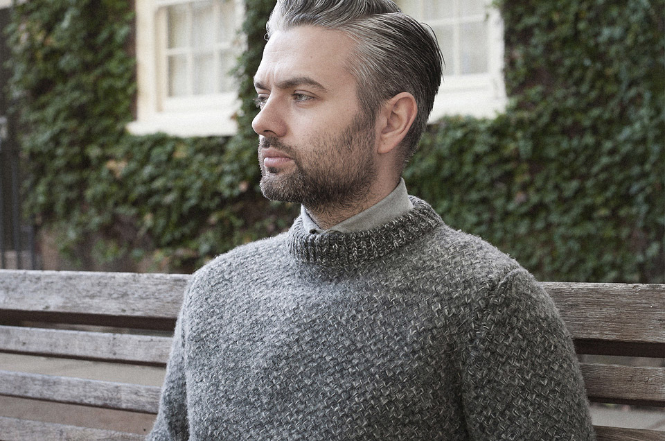 Tuck stitch knitwear    Garments made with the makers of the British Isles
