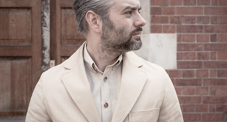Airweave cotton jacket — Garments made with the makers of the British Isles by S.E.H Kelly