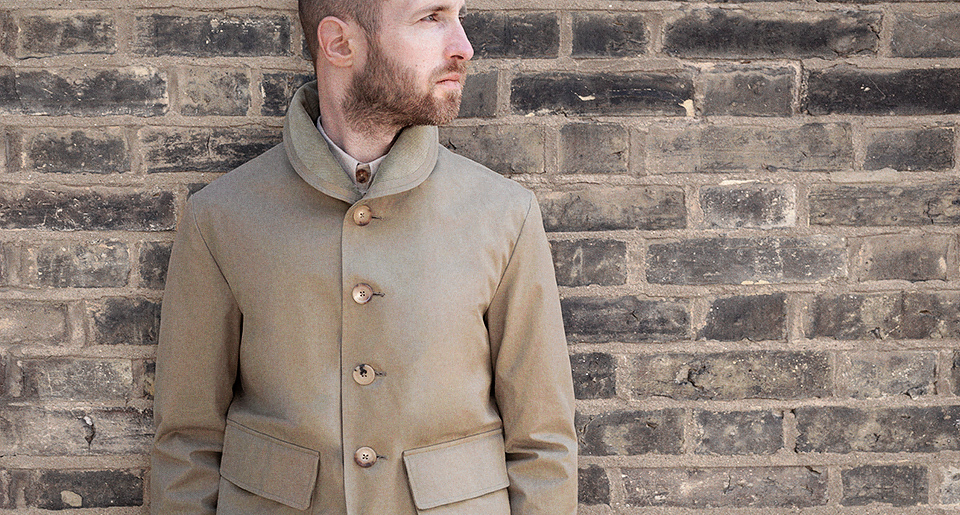 Green tour jacket Ventile — Garments made with the makers of the British Isles by S.E.H Kelly