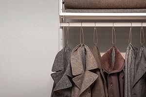 An unassuming wardrobe