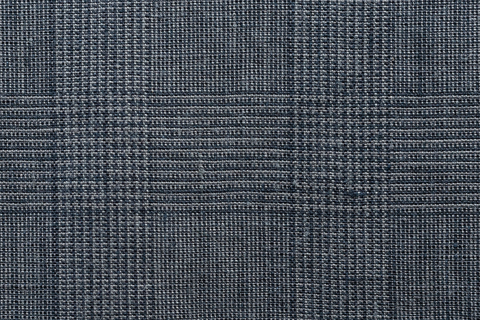glencheck the linen has a glen check running through faint one comprised of muted shades blue lines align at every opportunity with soft coat