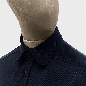 Standard shirt cord navy (XS)