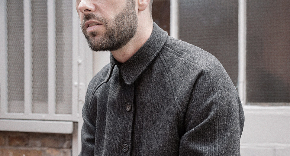 Reversible overshirt — Garments made with the makers of the British Isles by S.E.H Kelly