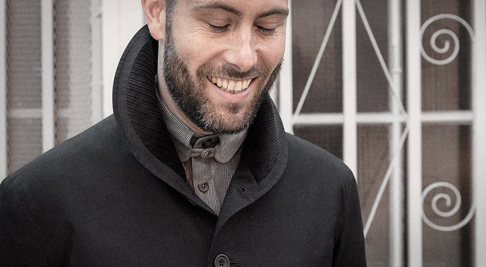 Black Ventile tour jacket — Garments made with the makers of the British Isles by S.E.H Kelly