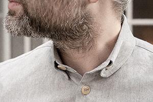 button down shirt desert cotton worn 3xs on Worn page
