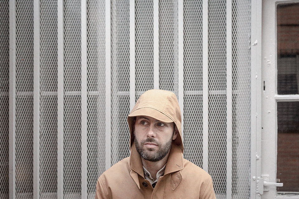 cinnamon ventile cotton seam jacket worn 1 on Worn page